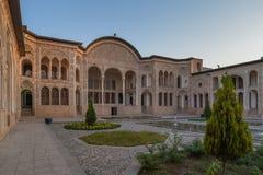 Tabatabaei议院在喀山,伊朗 库存图片