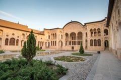 Tabatabaei议院在喀山,伊朗 库存照片