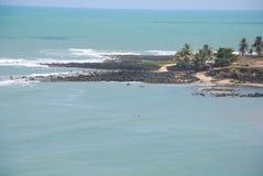 Tabatinga strand Arkivfoto