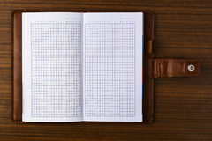 Tabbed notebook Royalty Free Stock Photo