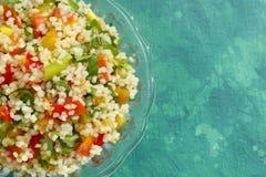 Tabbouleh (Arabian salad) Stock Image