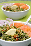 Tabbouleh bowls Royalty Free Stock Images