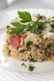 Tabbouleh with bulgur salad Stock Photography