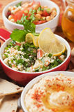 Tabbouleh, bulgur wheat salad Royalty Free Stock Images