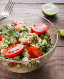 Tabbouleh with couscous and parsley Stock Image