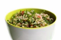 Tabbouleh de la quinoa fotografía de archivo