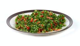 Tabbouleh ed alimento del Medio-Oriente fotografia stock libera da diritti