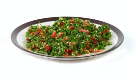 Tabbouleh and middle eastern food Royalty Free Stock Photography