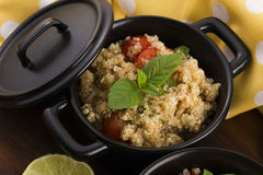 Tabbouleh Quinoa Royalty Free Stock Photography