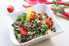 Tabbouleh recipe Stock Photos