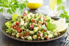 Tabbouleh Salat Stockfotografie