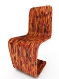 Tabby chair. 3D illustration Royalty Free Stock Photos
