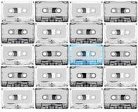 Tabe del casete para el reccord de la música Imagen de archivo libre de regalías