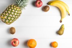 tabela świeżych owoców Zdjęcia Royalty Free