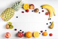 tabela świeżych owoców Zdjęcie Stock