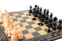 Tabela 3 da xadrez Fotografia de Stock Royalty Free