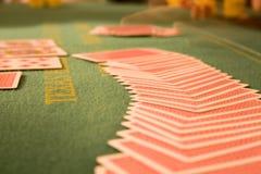 Tabela 3 do póquer Imagens de Stock Royalty Free