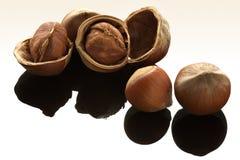 tabela arachidu lustro nuts Fotografia Stock