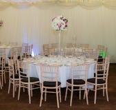 Tabela Banqueting Imagens de Stock Royalty Free