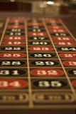 Tabela da roleta em Las Vegas Fotografia de Stock Royalty Free
