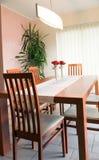 Tabela da sala de jantar Imagens de Stock Royalty Free