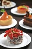 A tabela da sobremesa variou fotografia de stock royalty free