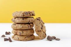 Tabela das cookies do biscoito Fotos de Stock