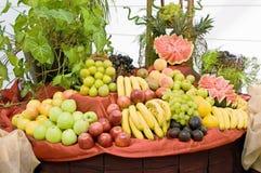 Tabela das frutas Fotografia de Stock