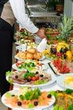 Tabela de banquete Imagens de Stock