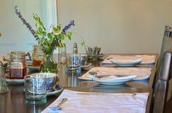 Tabela de café da manhã foto de stock royalty free
