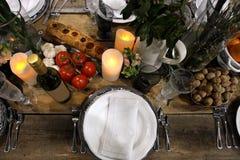 Tabela de Dinning Imagem de Stock
