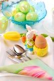 Tabela de Easter fotos de stock