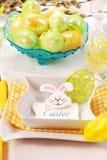 Tabela de Easter imagem de stock