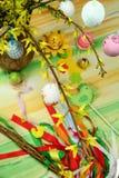 Tabela de Easter Imagem de Stock Royalty Free