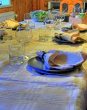 Tabela de jantar 1 Fotos de Stock Royalty Free