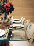 Tabela de jantar Imagem de Stock Royalty Free