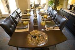 Tabela de jantar 2061 Imagens de Stock Royalty Free