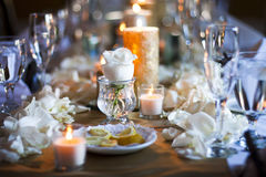tabela de jantar Imagens de Stock