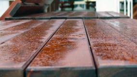 Tabela de madeira # Imagem de Stock Royalty Free