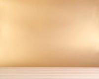 Tabela de madeira Imagens de Stock Royalty Free