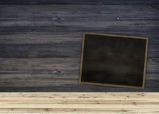 Tabela de madeira da prancha para o produto gráfico do suporte, o design de interiores ou a exposição da montagem seu produto com ilustração do vetor