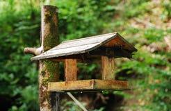 Tabela de madeira do pássaro Foto de Stock Royalty Free