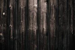 Tabela de madeira gasto escura suja Fundo de madeira preto da textura da cerca Teste padrão de madeira, superfície Assoalho de ma imagem de stock royalty free