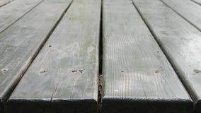 A tabela de madeira velha Fotos de Stock