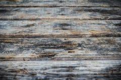 Tabela de madeira velha Foto de Stock Royalty Free