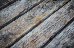 Tabela de madeira velha Fotos de Stock Royalty Free