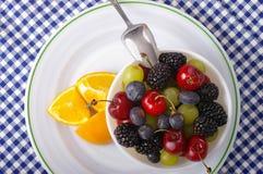 Tabela de pequeno almoço Foto de Stock