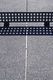 Tabela de Ping-pong exterior Fotografia de Stock