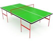 Tabela de Pong do sibilo isolada no branco Imagem de Stock Royalty Free