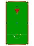 Tabela de Snooker Foto de Stock Royalty Free